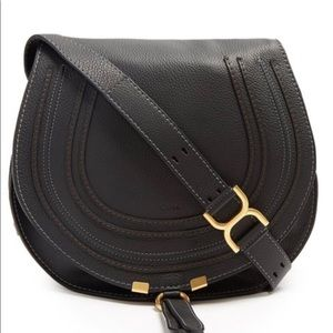 Chloe Marcie Medium Black CrossBody Bag